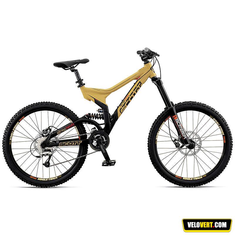 Mountain biking purchasing guide : Scott Nitrous 20