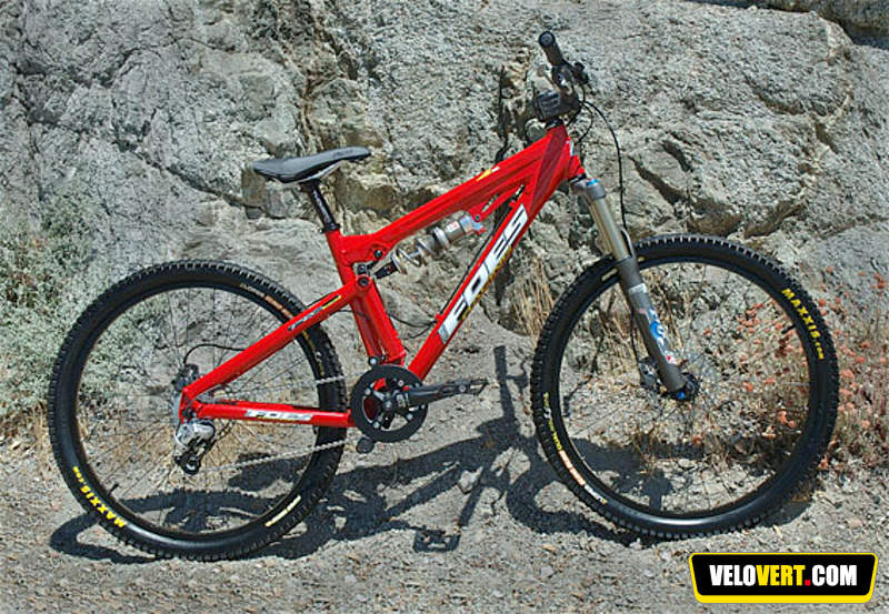 Mountain biking purchasing guide : Foes 4X